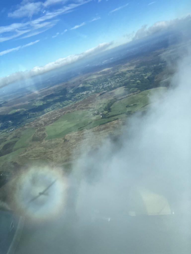Pilots Bullseye over Camphill